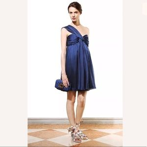 Moschino Cheap and Chic Silk One Shoulder Dress